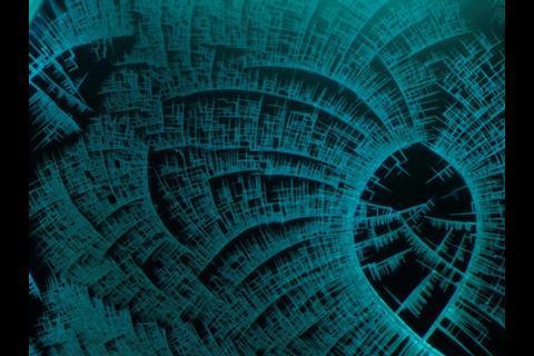 Crystal micrograph